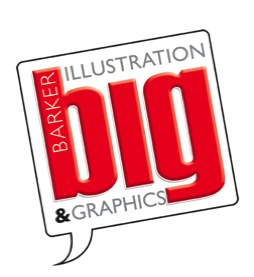 Barker Illustration and Graphics logo